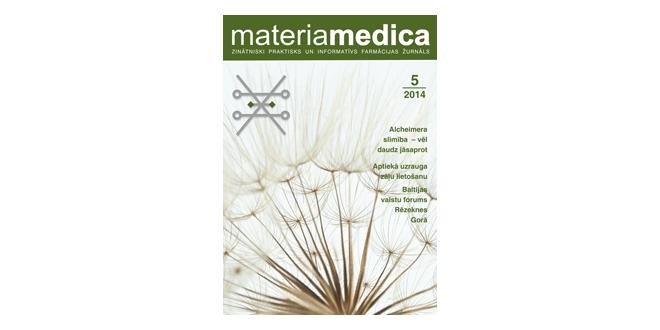 """Jaunajā """"Materia Medica"""" numurā – būtiskais par tālākizglītības procesu"""