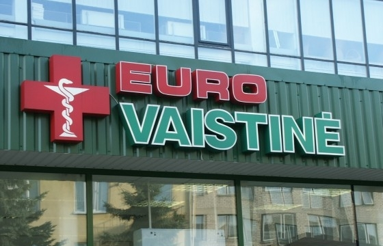 """Lietuvā tiek pārdoti aptieku tīkli """"Eurovaistine"""" un """"Camelia"""""""
