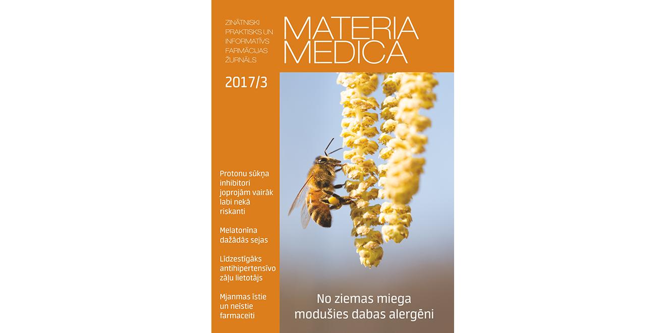 """Jaunajā """"Materia Medica"""" – par elpceļu alerģijām, Homeopātisko aptieku un farmāciju Mjanmā"""