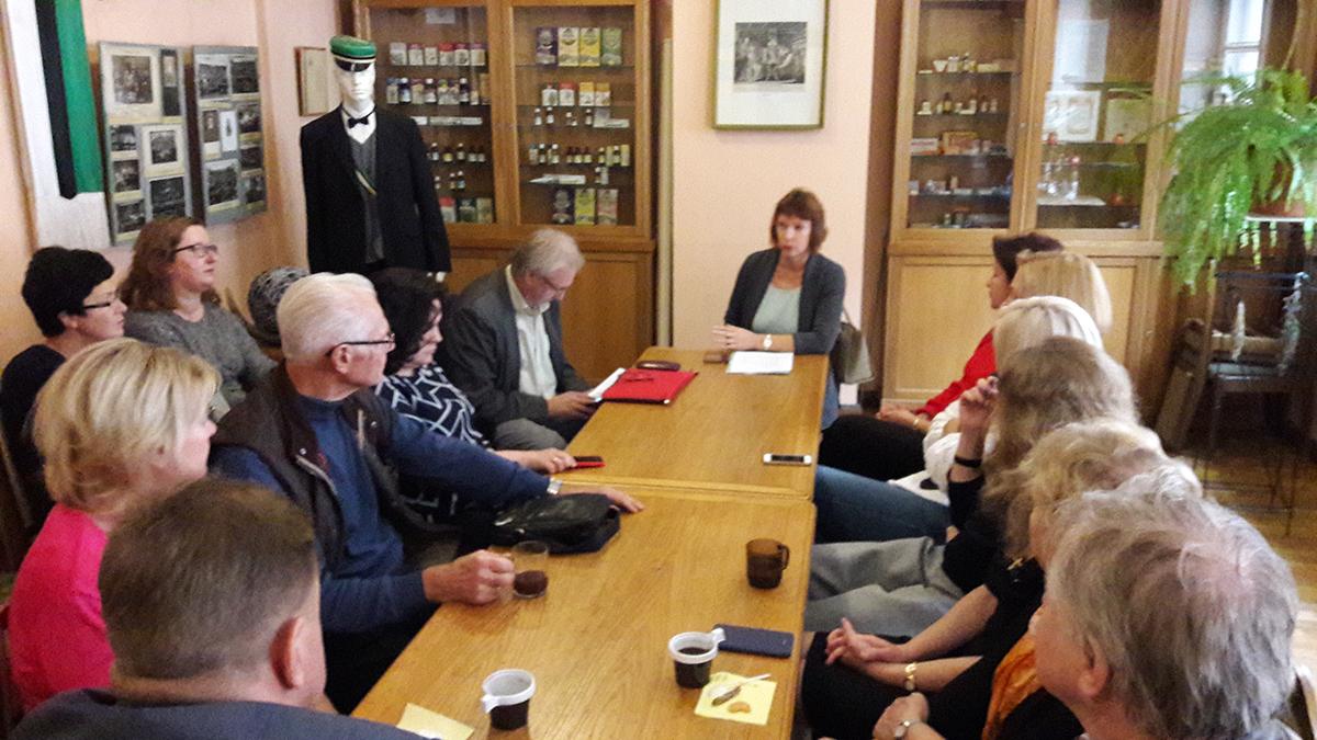 Notikusi tikšanās ar LFB prezidenta amata kandidāti, lai runātu par biedrības nākotni