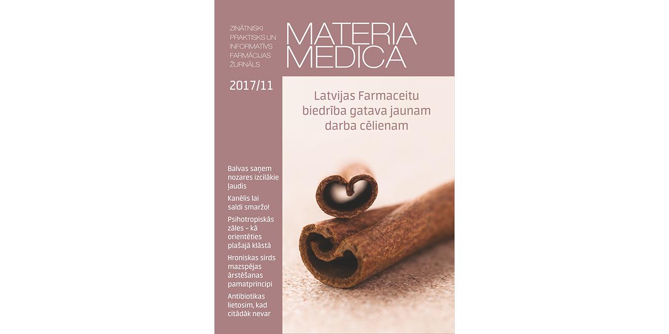 """Jaunajā """"Materia Medica"""" – viss par un ap LFB kongresu"""