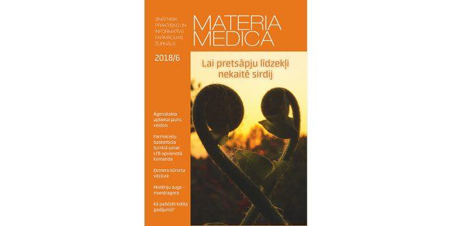 """Jaunajā """"Materia Medica"""" – par kolītu, injicējamiem NPL un uztura bagātinātāju reklamēšanu"""