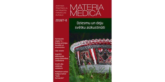 """Jaunajā """"Materia Medica"""" – par izmaiņām zāļu reklamēšanā un kolēģiem Dziesmu svētkos"""