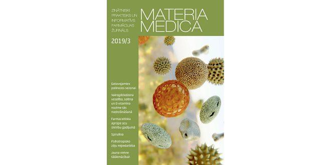 """Jaunajā """"Materia Medica"""" – par dekoratīvo kosmētiku aptiekās un grozījumiem normatīvajos aktos"""