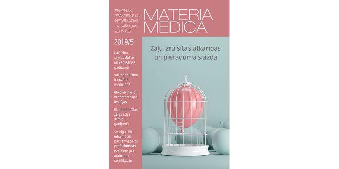 """Jaunajā """"Materia Medica"""" – par marihuānu medicīnā un zāļu pieejamību Latvijā un pasaulē"""
