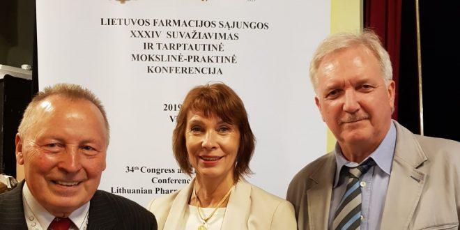 Latvijas farmaceiti piedalās Lietuvas Farmācijas savienības 34. kongresā