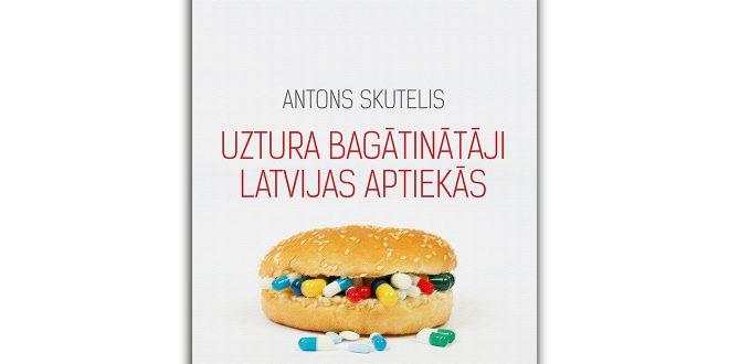 """MIC piedāvā jaunu grāmatu – """"Uztura bagātinātāji Latvijas aptiekās"""""""