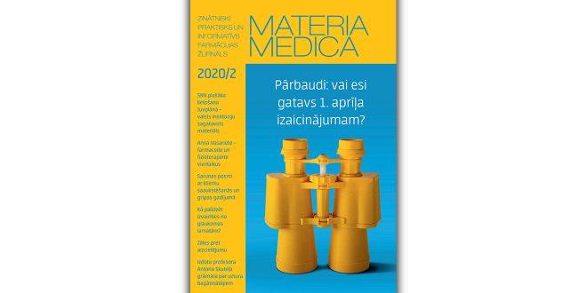 """Jaunajā """"Materia Medica"""" – viss par koronavīrusu"""
