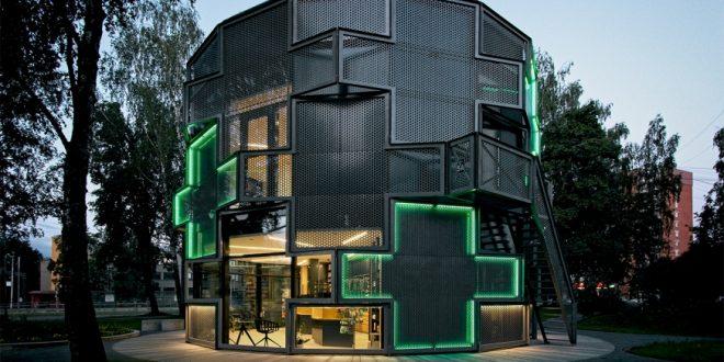 Dzirciema aptiekas jaunā ēka izvirzīta Latvijas Arhitektūras gada balvai