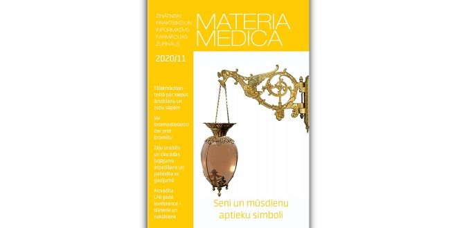 """Jaunajā """"Materia Medica"""" – par LFB gada konferenci, bronhodilatatoriem un elpceļu infekcijām un zāļu blaknēm uz ādas"""