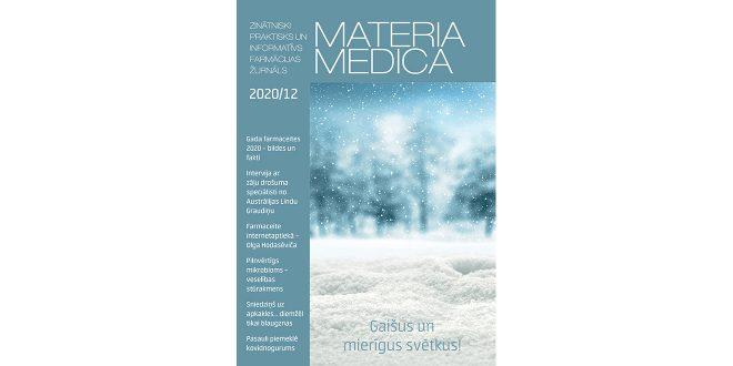"""Jaunajā """"Materia Medica"""" – par Gada farmaceitiem, Covid-19 vakcīnām un pandēmijas nogurumu"""