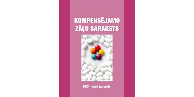 Spēkā stājušās izmaiņas Kompensējamo zāļu sarakstā