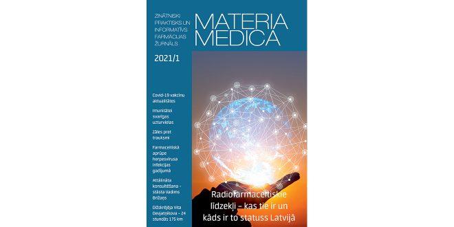 """Jaunajā """"Materia Medica"""" numurā – sīki un smalki par Covid-19 vakcīnām"""