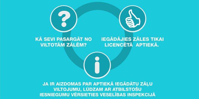 ZVA aicina zāles iegādāties tikai licencētās interneta aptiekās