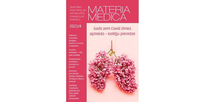 """Jaunajā """"Materia Medica"""" numurā – gads ar Covid-19 – farmaceita acīm"""