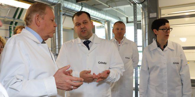 """""""Grindeks"""" iegulda 800 000 eiro multifunkcionāla iecirkņa izveidē"""