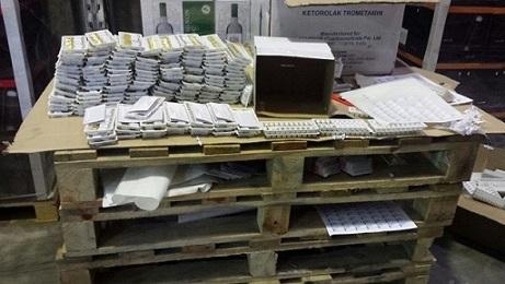 ZVA apstiprina, ka zāļu pārmarķēšana noliktavā Rīgā notikusi nelegāli