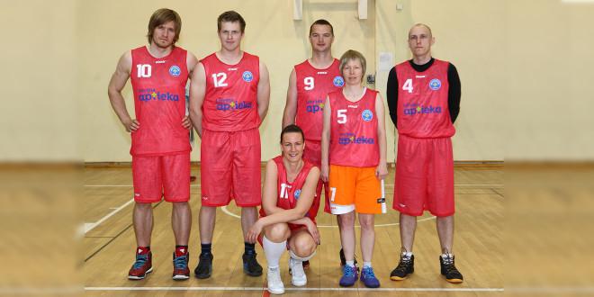 """LFB basketbola turnīrā uzvar """"Latvijas aptiekas"""""""