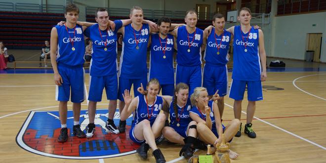 "LFB basketbola turnīrā šogad uzvar ""Grindeks"""