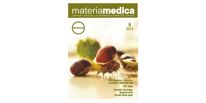 """Jaunajā """"Materia Medica"""" numurā lasiet, vai aptieka var iztikt bez farmaceita"""